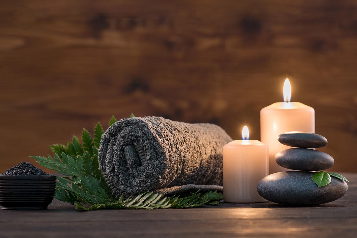 Kurz und Schmerz los Massage