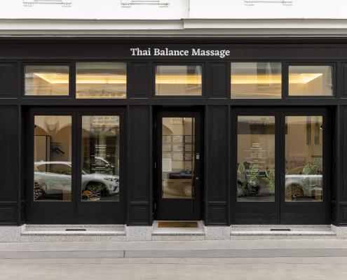 Thai Balance Massage - Außenaufnahme frontal