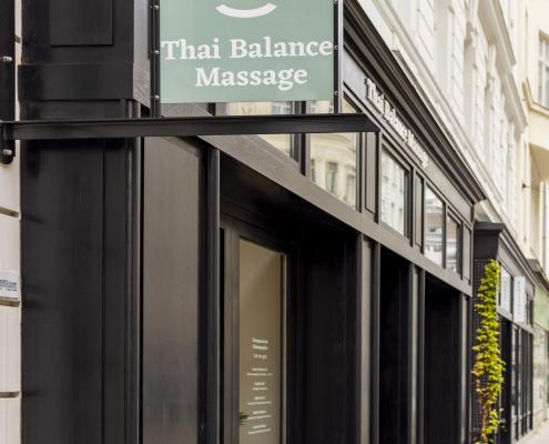 Thai Balance Massage - Außenaufnahme seitlich