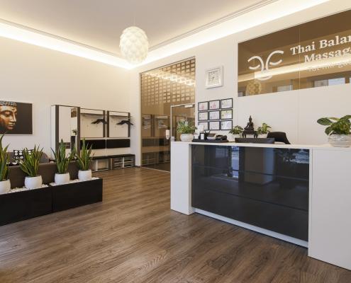 Thai Balance Massage - Empfang